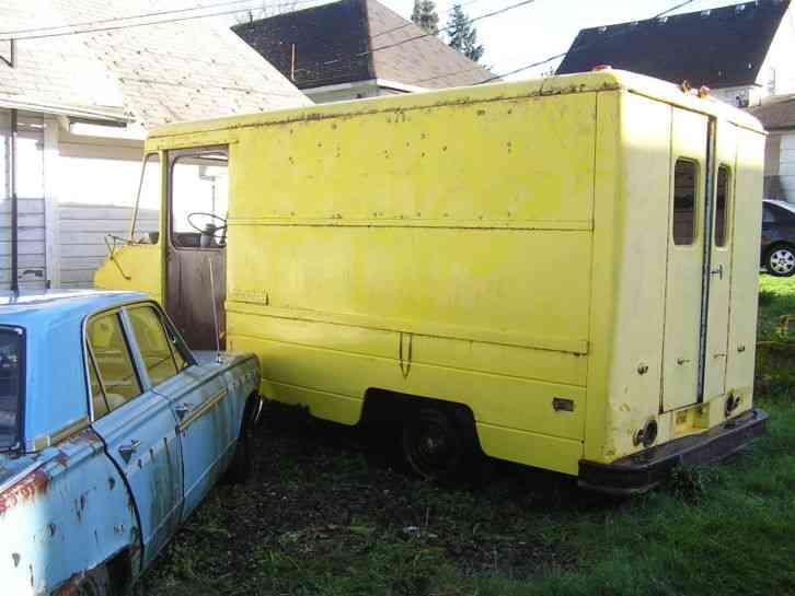 Step Van For Sale >> Chevrolet P-20 Step Van (1968) : Van / Box Trucks