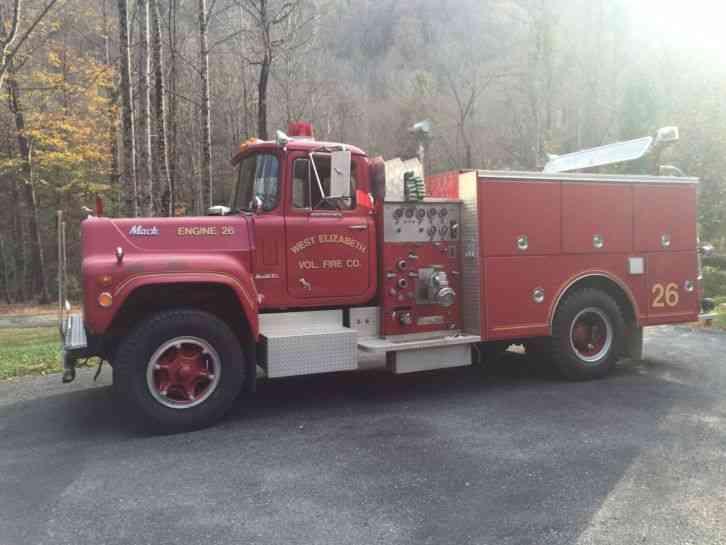Mack 1970 Emergency Amp Fire Trucks