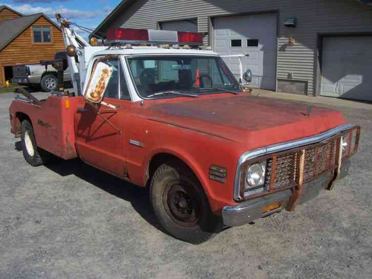Chevrolet Tow Truck 1971 Wreckers