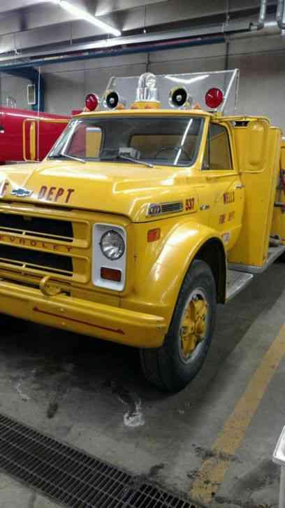 Trucks That Are Good On Gas >> Chevrolet C60 (1971) : Emergency & Fire Trucks