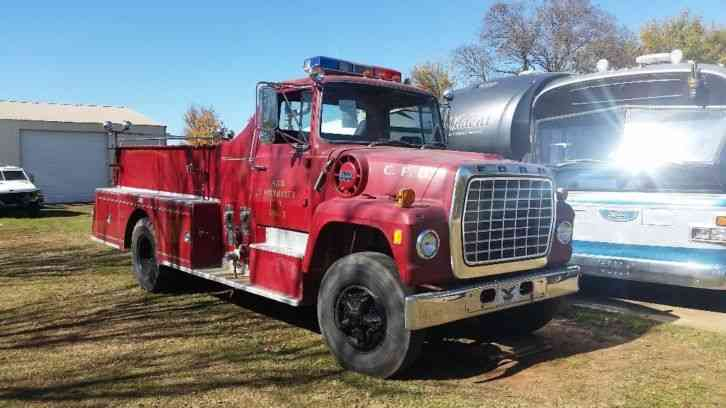 Ford F900 Fire Truck (1972)