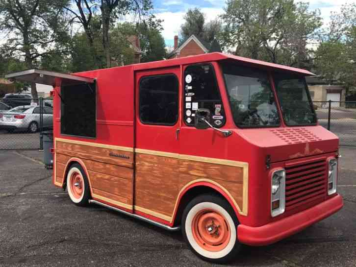 Gmc Value Van 1972 Van Box Trucks