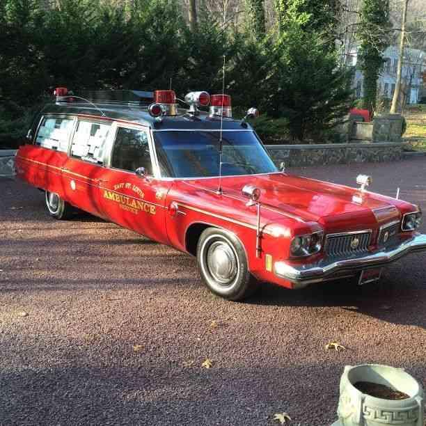 Oldsmobile Cotner-Bevington (1973) : Emergency & Fire Trucks