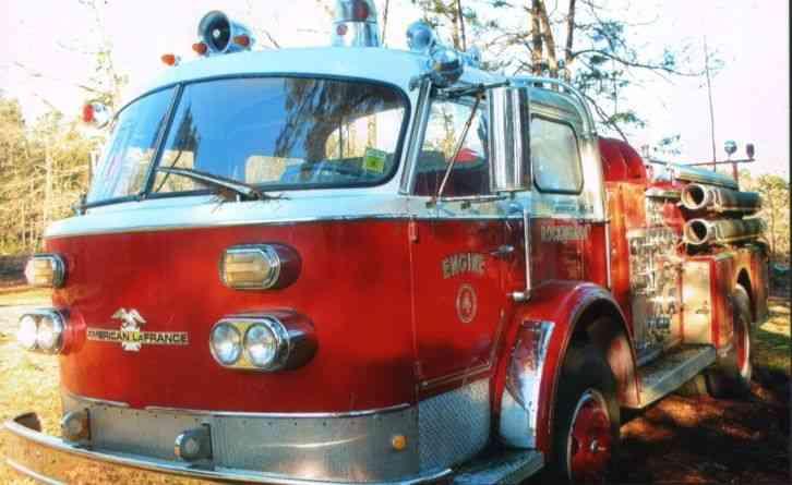 Lafrance 1973 Emergency Amp Fire Trucks