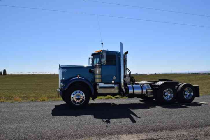 kenworth wa  daycab semi trucks