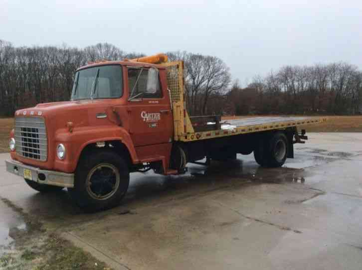 Flatbed Tow Truck >> Ford 750 (1974) : Flatbeds & Rollbacks