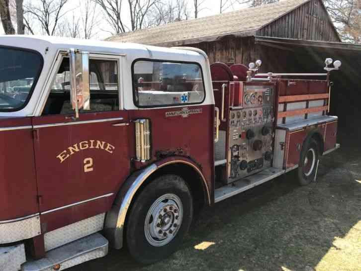 american lafrance  emergency fire trucks