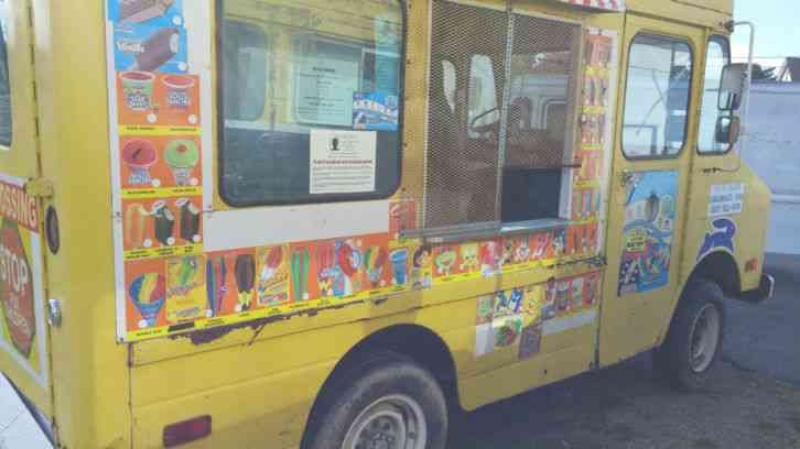 Ice Cream Truck For Sale >> CHEVROLET P20 (1976) : Van / Box Trucks
