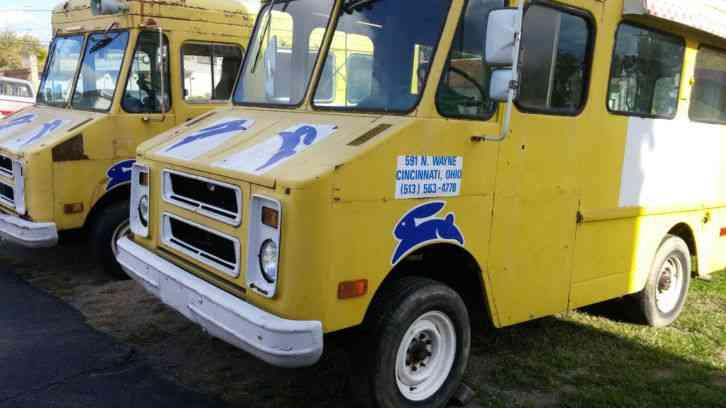Chevrolet P20 1976 Van Box Trucks
