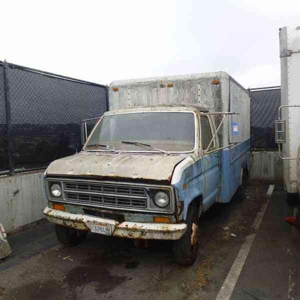 ford step van  1976    van    box trucks