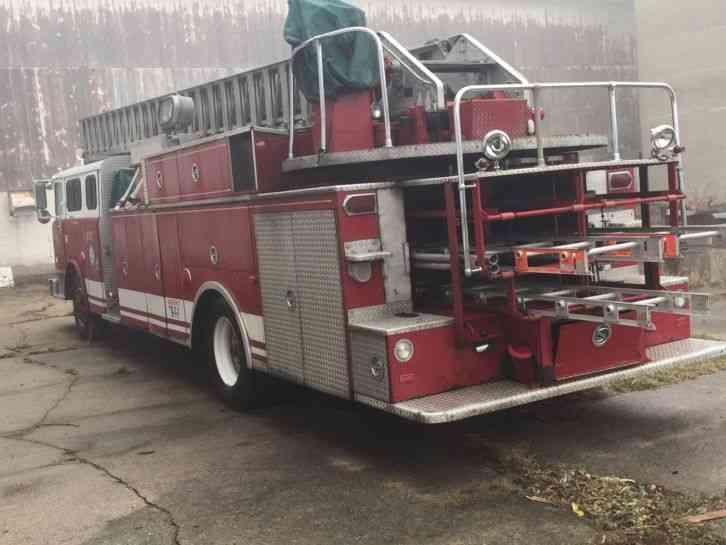 Mack Cf600 1976 Emergency Amp Fire Trucks