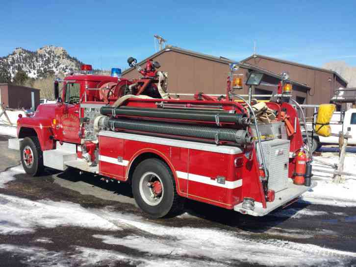 Mack Trucks For Sale >> Mack R611F (1976) : Emergency & Fire Trucks