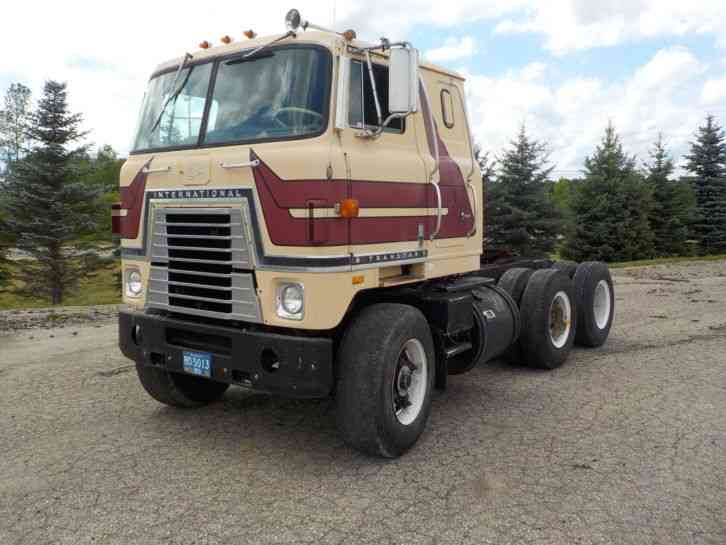 International Transtar Ii 1977 Sleeper Semi Trucks
