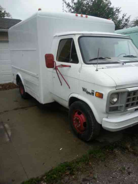Gmc 1978 Van Box Trucks