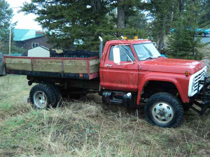 Ford F700 4x4 For Sale Autos Post