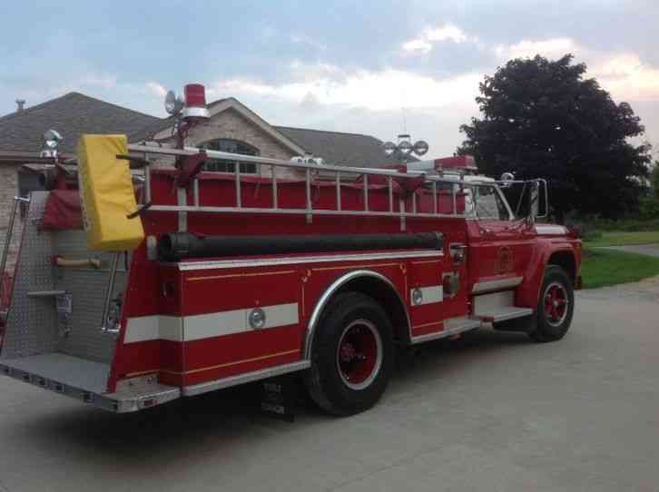 Ford F700 Hahn 1978 Emergency Amp Fire Trucks