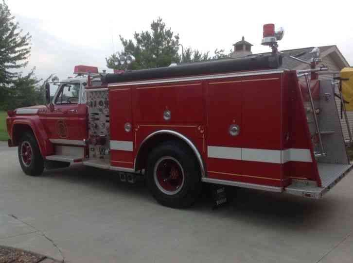Ford F700 Hahn 1978 Emergency Amp Fire Trucks