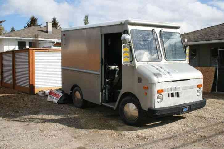 Gmc Grumman Olson Step Van 1978 Van Box Trucks