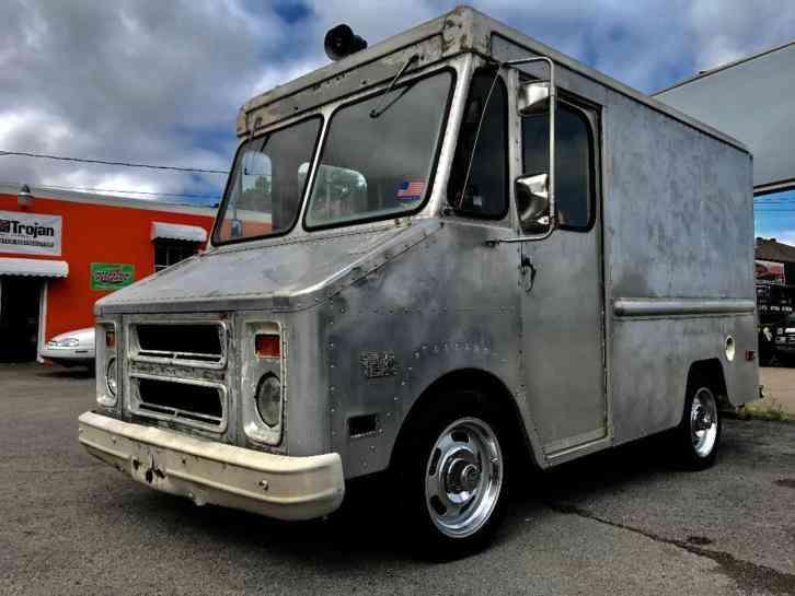 Step Vans For Sale >> Chevrolet P10 Step Van 1979 Van Box Trucks