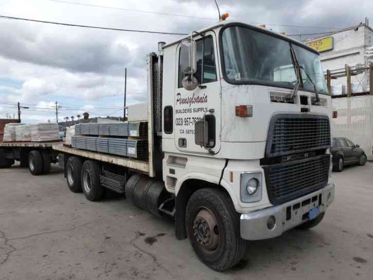 Vacuum Truck For Sale >> Ford CLT9000 Cabover (1979) : Heavy Duty Trucks