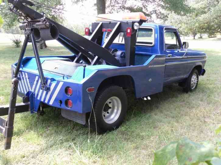Ford F-350 Tow Truck (1979) : Wreckers