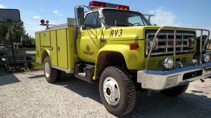 1979 gmc 7000 4x4 wildland brush fire truck 222665854231 1 gmc 7000 (1979) emergency & fire trucks 1979 Pontiac Wiring Diagram at edmiracle.co