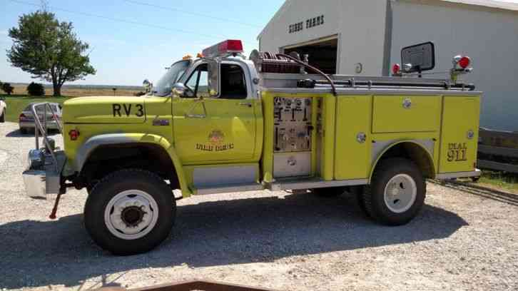 1979 gmc 7000 4x4 wildland brush fire truck 222665854231 3 gmc 7000 (1979) emergency & fire trucks 1979 Pontiac Wiring Diagram at n-0.co