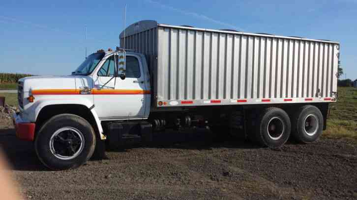 Grain Trucks For Sale >> Gmc 7000 1979 Heavy Duty Trucks