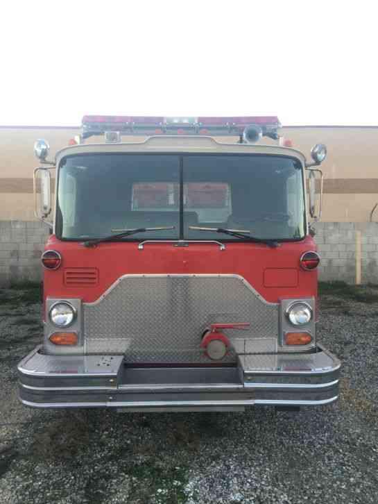 1979 Mack Tractor Truck : Mack emergency fire trucks