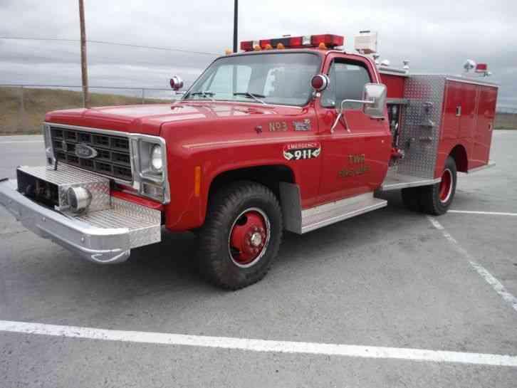 Chevrolet Ck31001 1979 Emergency Amp Fire Trucks