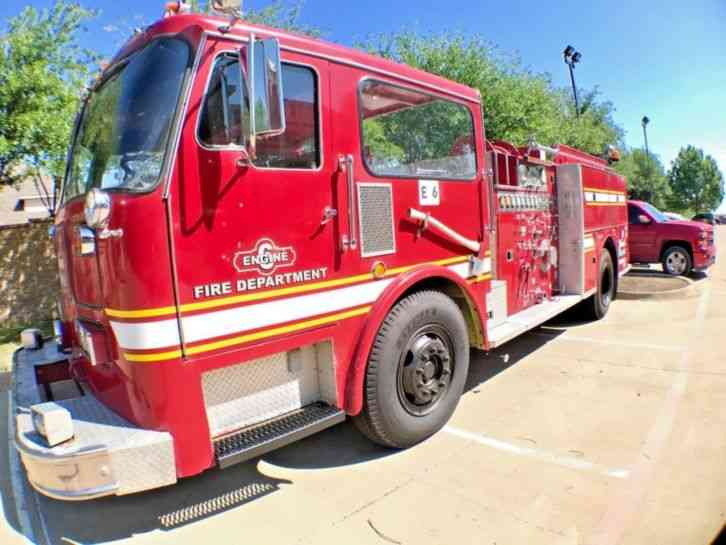 Seagrave Fire Apparatus >> Seagrave Fire Truck 1979 Emergency Fire Trucks