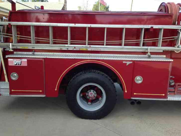 Gmc 7000 Series 1980 Emergency Amp Fire Trucks