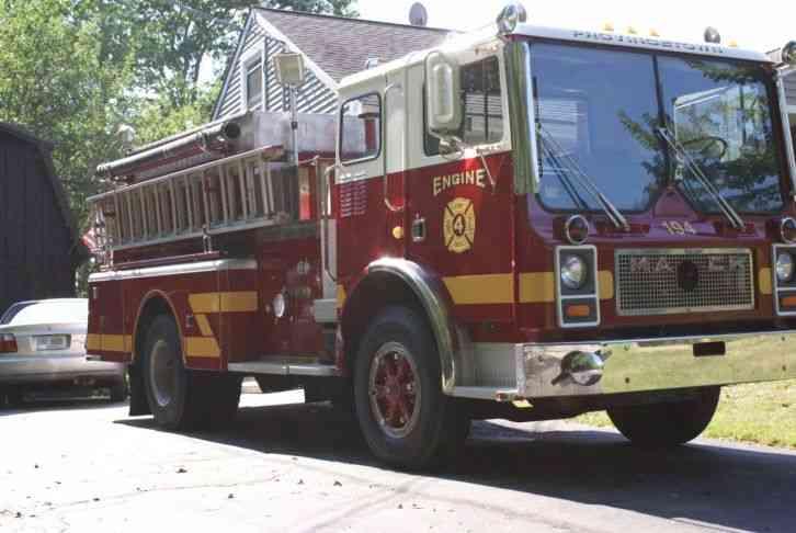 Used Bucket Trucks For Sale >> Mack MC487 (1980) : Emergency & Fire Trucks