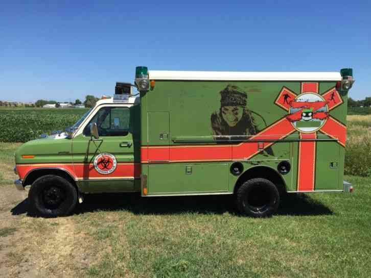 Ford E350 1981 Emergency Amp Fire Trucks