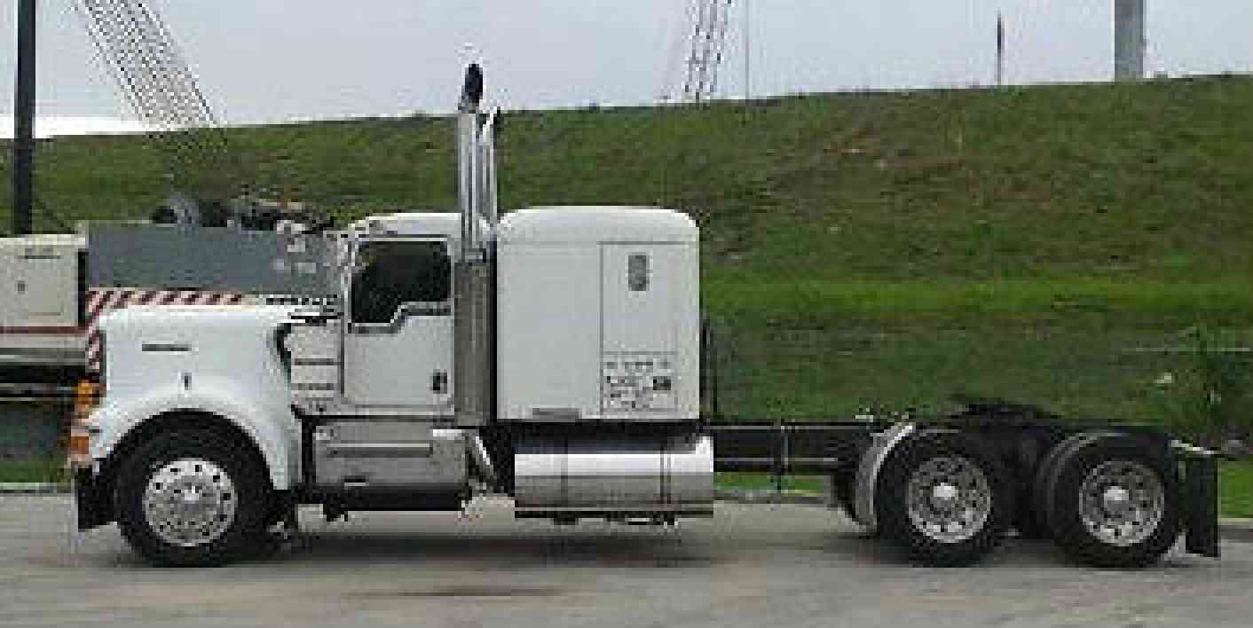 Big Truck Wheels 24 5 : Kenworth w a sleeper semi trucks