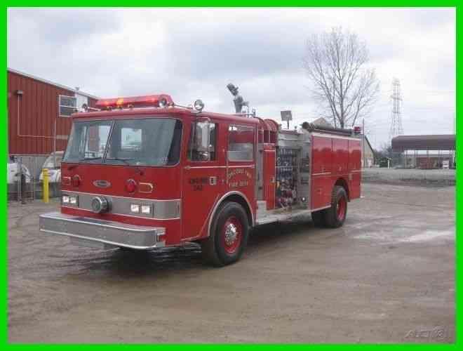 Used Semi Trucks For Sale In Ohio >> PIERCE ARROW (1981) : Emergency & Fire Trucks