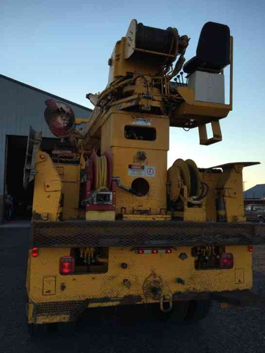 Autocar With Telelect Crane Dc66 1982 Bucket Boom Trucks
