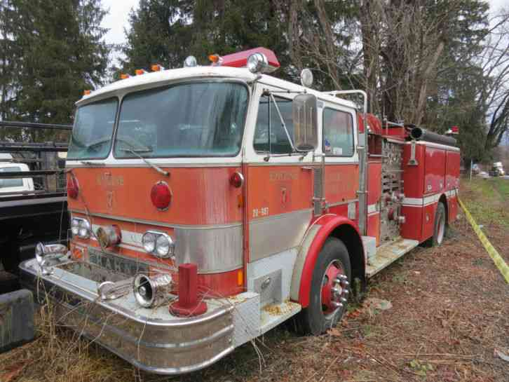 Hahn Fire Truck 1982 Emergency Amp Fire Trucks
