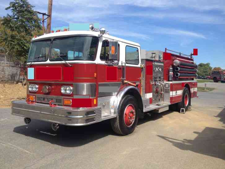 Hahn Hcp 10 1982 Emergency Amp Fire Trucks