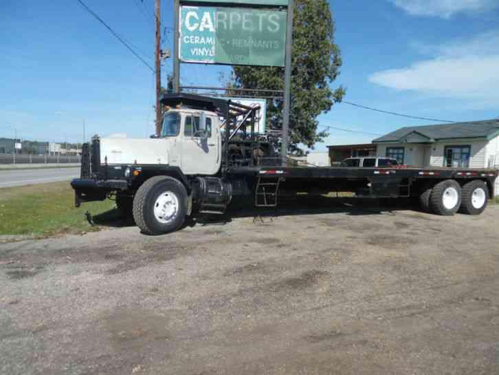 mack rm686sx 1982 heavy duty trucks rh jingletruck com International 7400 Wiring- Diagram International 7400 Truck Wiring Problems