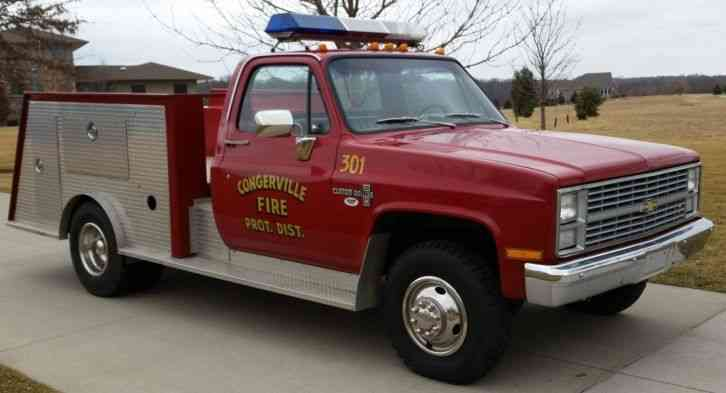 Chevrolet K30 (1983) : Emergency & Fire Trucks