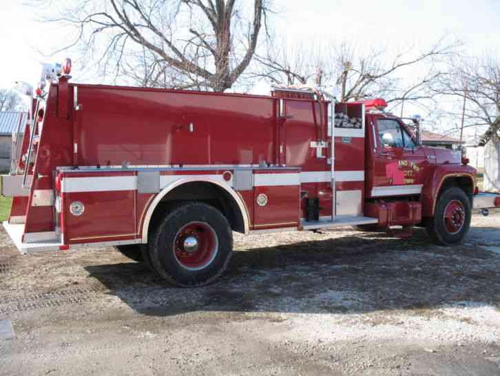 Kenworth K121 (1975) : Emergency & Fire Trucks