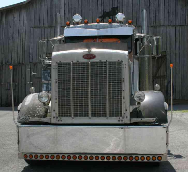 Led Lights For Semi Trucks >> Peterbilt 359 (1983) : Daycab Semi Trucks
