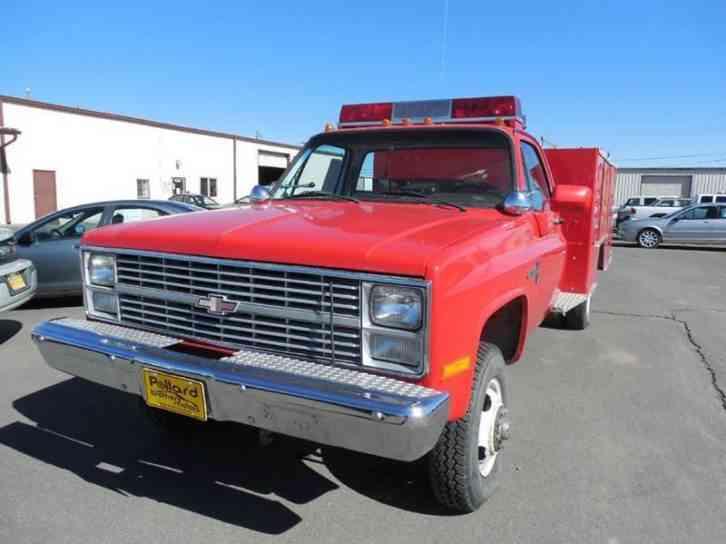 Chevrolet k30 1984 emergency fire trucks for Via motors truck price