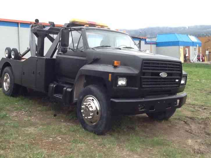 Ford f 450 1984 wreckers for Used tow motors for sale