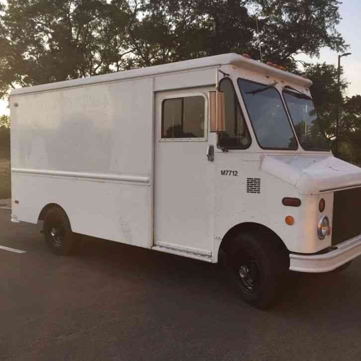 Used Food Truck For Sale >> Ford Grumman Olson (1984) : Van / Box Trucks