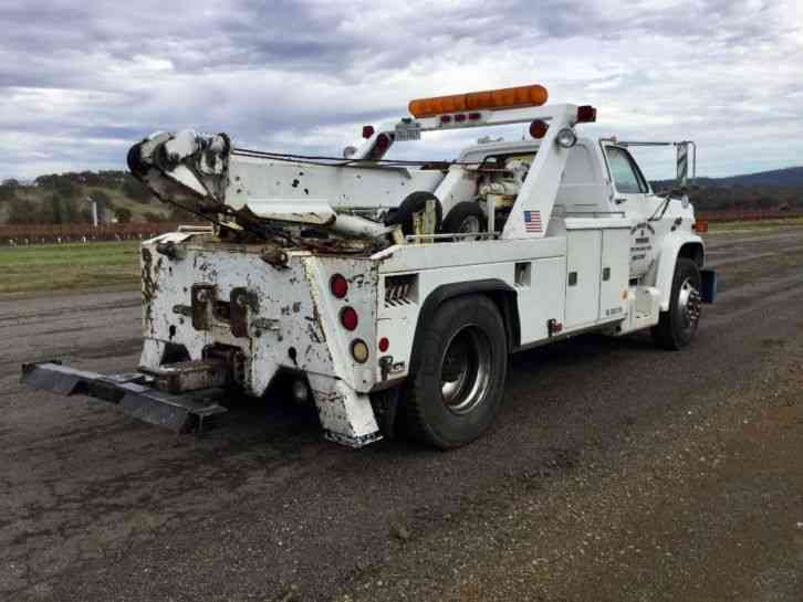 Commercial Vehicles For Sale In Northern California: GMC 7000 (1984) : Wreckers