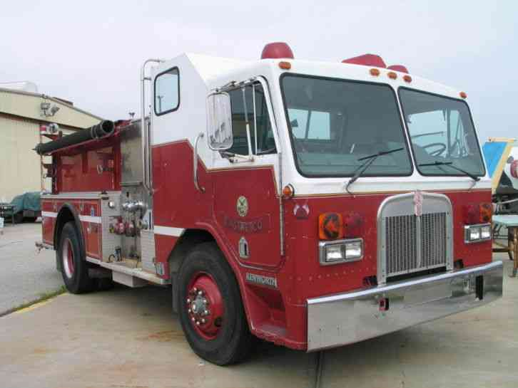 Kenworth fire engine 1984 emergency fire trucks for Truck motors for sale