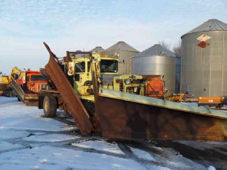 Heavy Duty Snow Plow Trucks For Sale >> Oshkosh (1984) : Heavy Duty Trucks