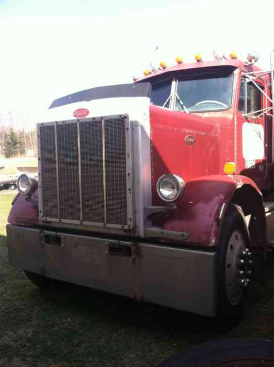 Flatbed Tow Truck >> Peterbilt 359 (1984) : Sleeper Semi Trucks